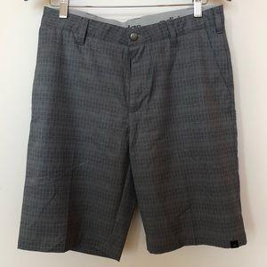 Adidas Ultimate365 Golf Shorts - Gray/Black